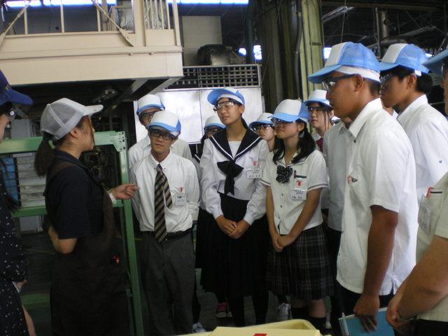 高校生向 会社見学会 第1回
