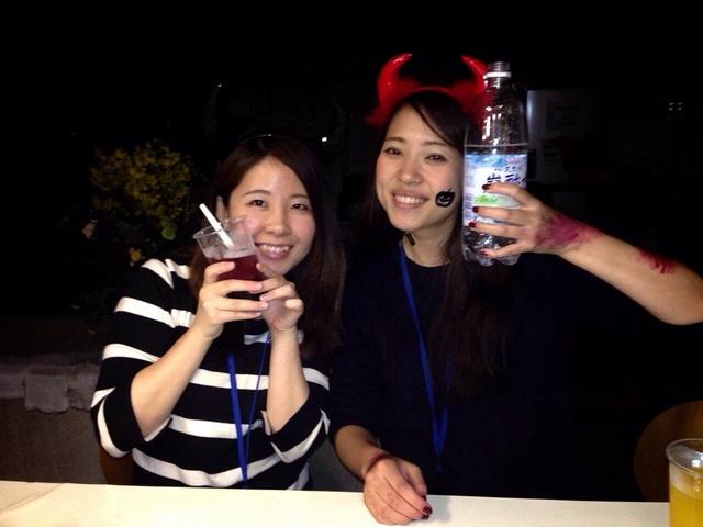 ハロウィン・キャンドルナイト in OMI SHOKUDO!!