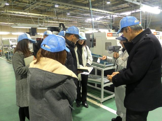 島根県立西部技術校 見学実習