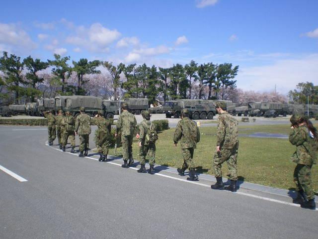 平成25年度 新人社員 外部研修第一弾!→ 豊川駐屯地にて