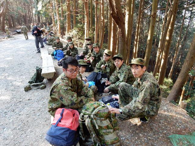 豊川駐屯地自衛隊研修