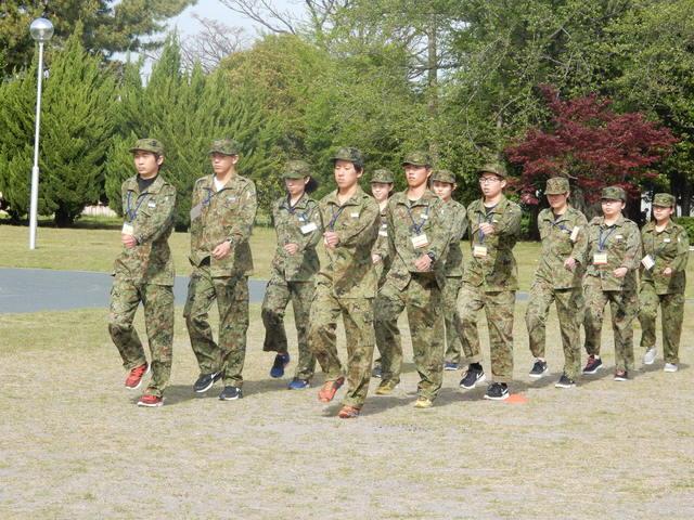 豊川駐屯地 隊内生活体験