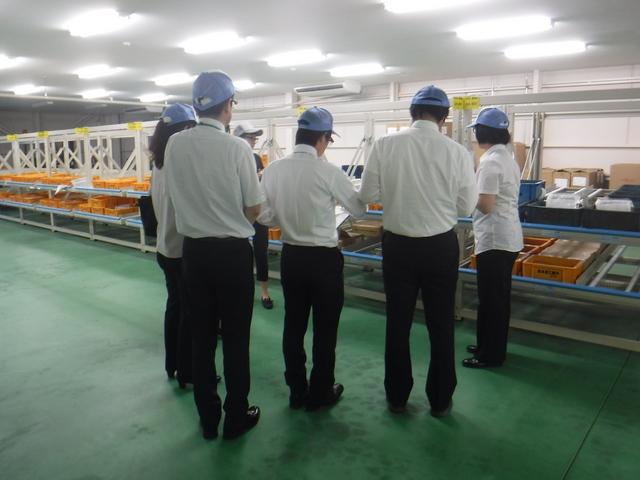 島根県立西部高等技術校 事務ワーク科 企業見学会