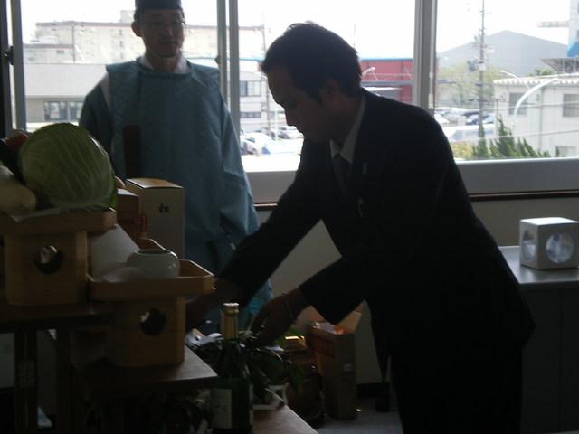 浜松営業所開所式!!