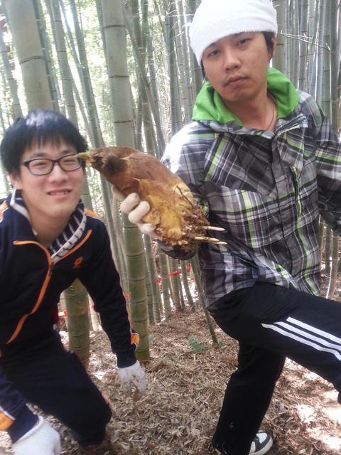 タケノコ堀り体験!